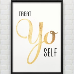 find little ways to constantly treat yourself !