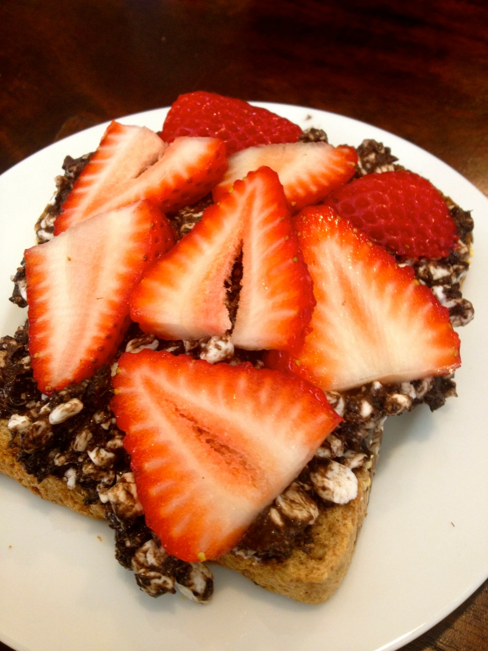 {{ Dark Chocolate Cottage Cheese Spread }} A Breakfast &/or Dessert Recipe: