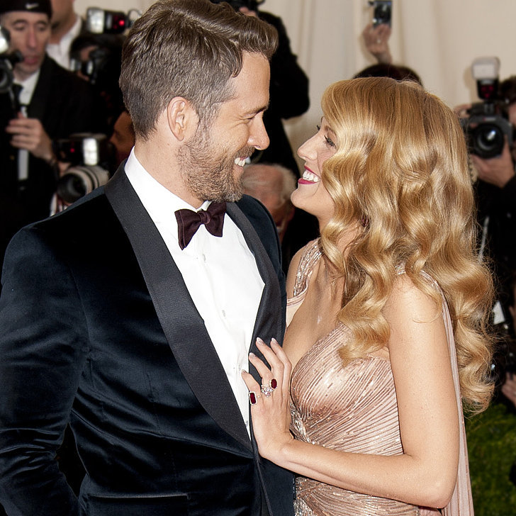Ryan Reynolds & Blake Lively both in Gucci---could they be more perfect?
