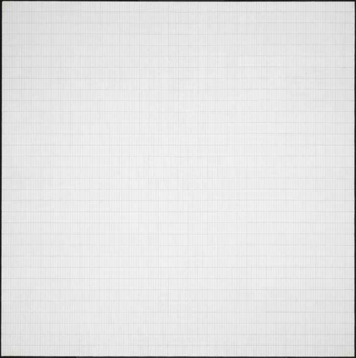 Morning 1965 Agnes Martin 1912-2004 Purchased 1974 http://www.tate.org.uk/art/work/T01866